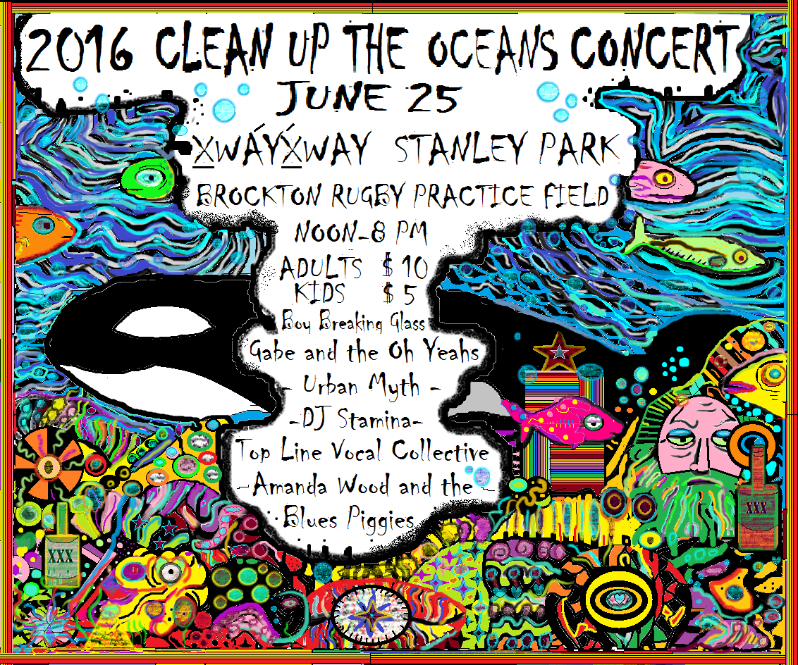 clean up the oceans concert