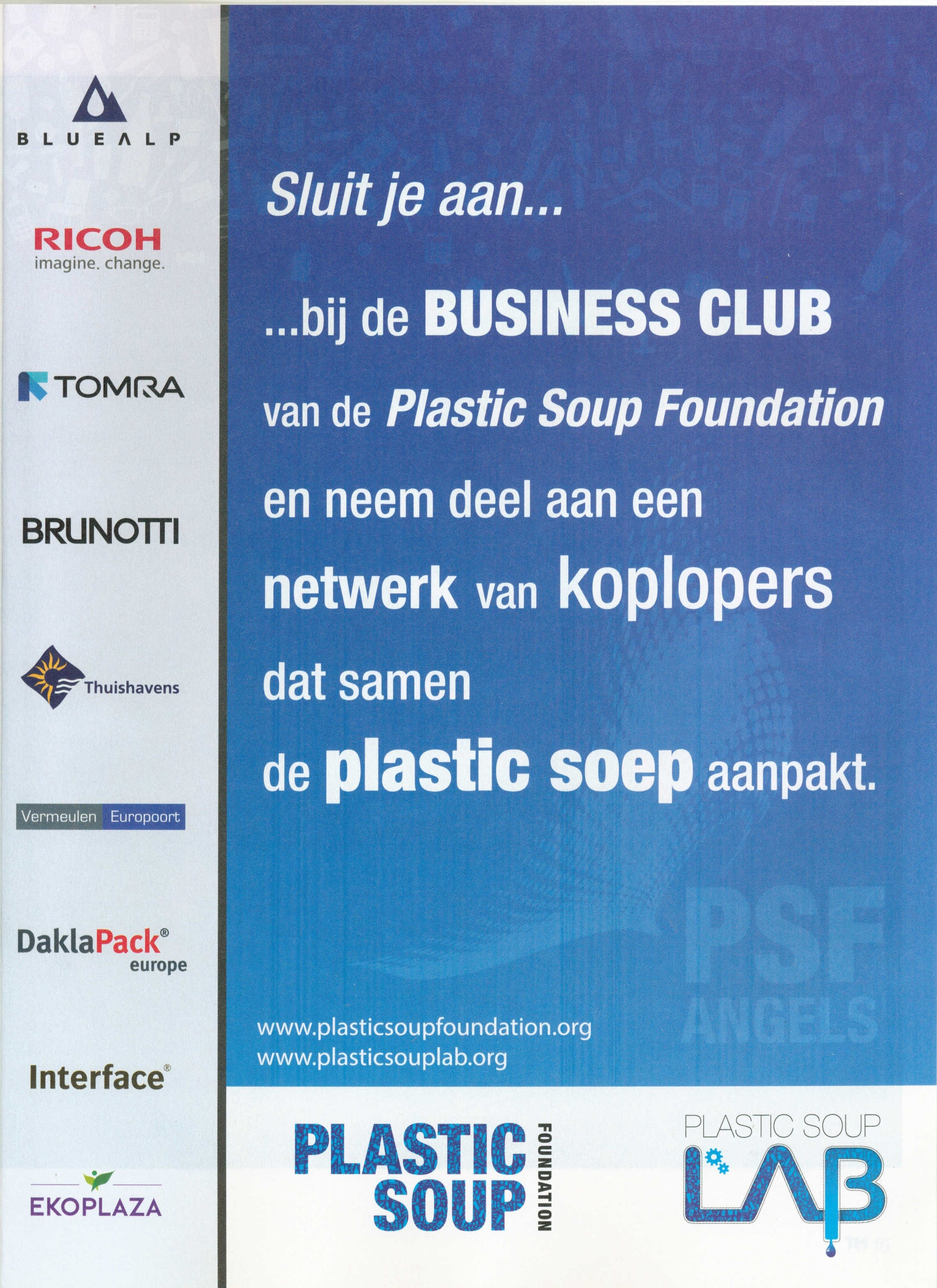 PSF in de pers - Plastic Soup Foundation