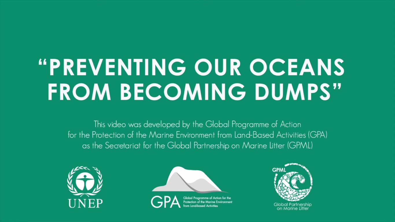 New video from UNEP on marine litter