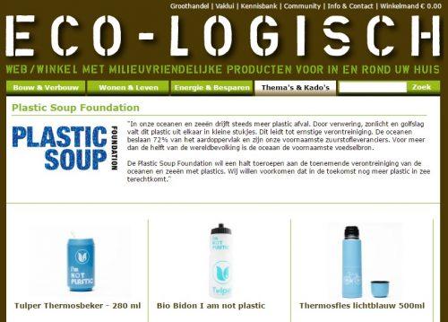 Plastic Soup Foundation begint een eigen webshop - Plastic Soup ...