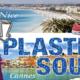 Lotte loopt van Cannes naar Nice voor Plastic Soup Foundation.