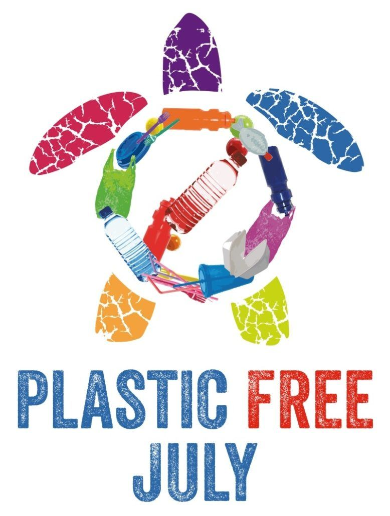 Image result for plastic-free july