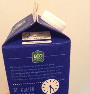 In 2017 zijn de plastic doppen weer terug op de verpakkingen van Jumbo.
