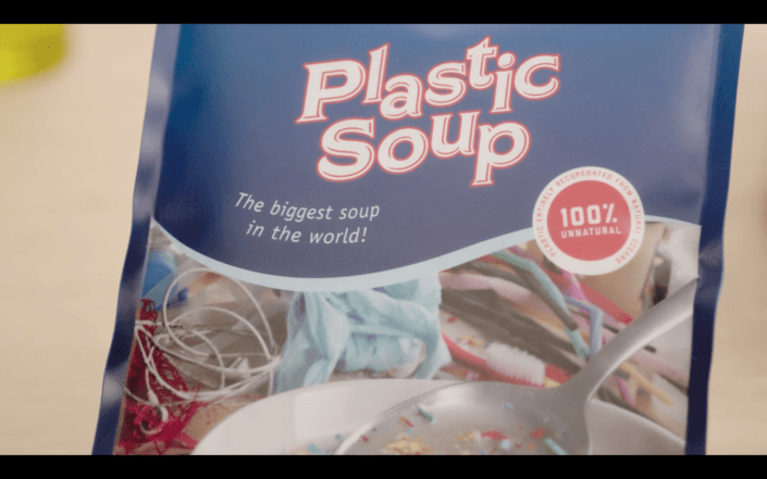 Screenshot of the My Little Plastic Footprint commercial