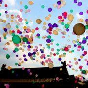 ballonnen oplaten slecht voor milieu