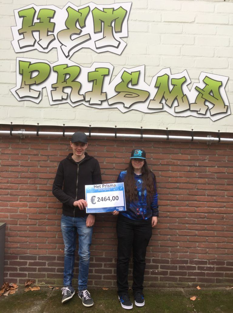 Cheque van Het Prisma in Arnhem
