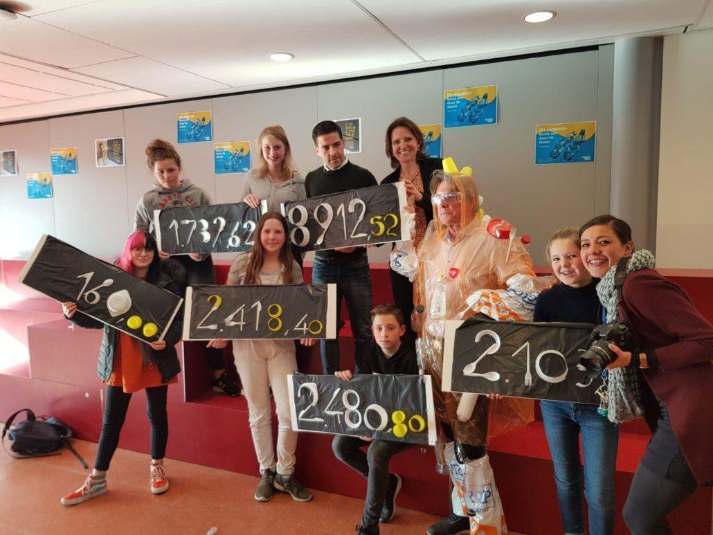 Alle cheques van de Toorop Mavo in Rotterdam